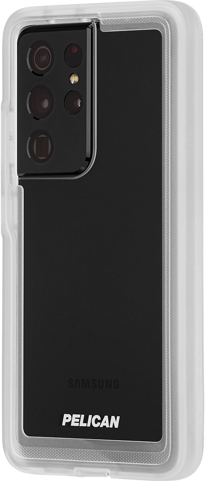 pelican pp045214 samsung galaxy s21 ultra voyager rugged phone case clear