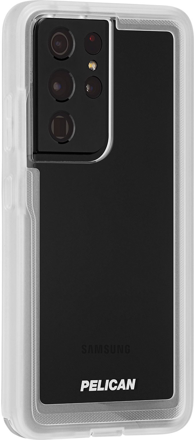 pelican pp045214 samsung galaxy s21 ultra voyager tpu phone case clear