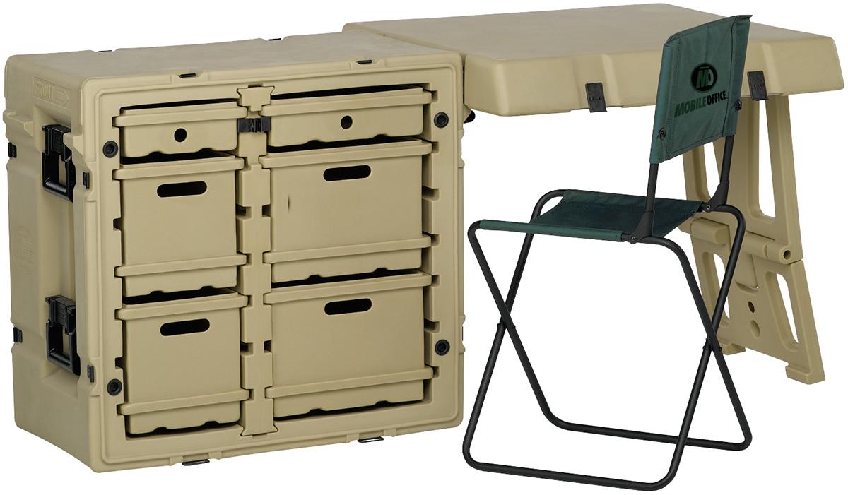 pelican outdoor military office desk