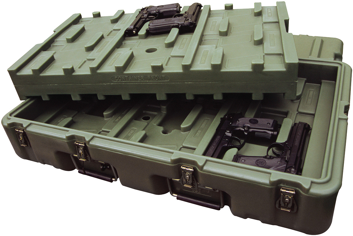 pelican usa military large 9mm pistol case