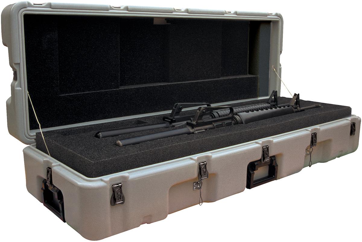 pelican usa military dual m16 rifle case