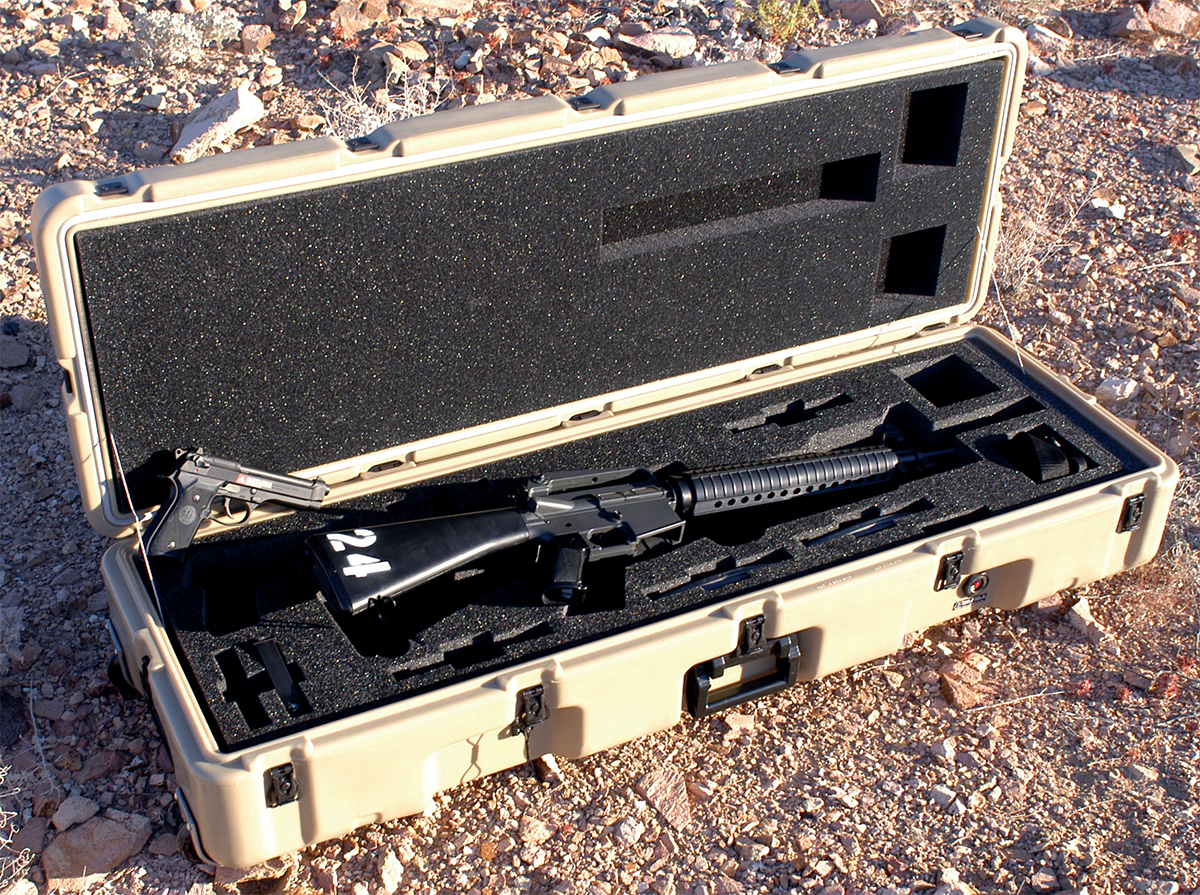 pelican usa military m16 m203 m9 case