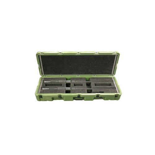 pelican military m2 gun transport cases