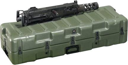 pelican m2 reciever military hard gun case