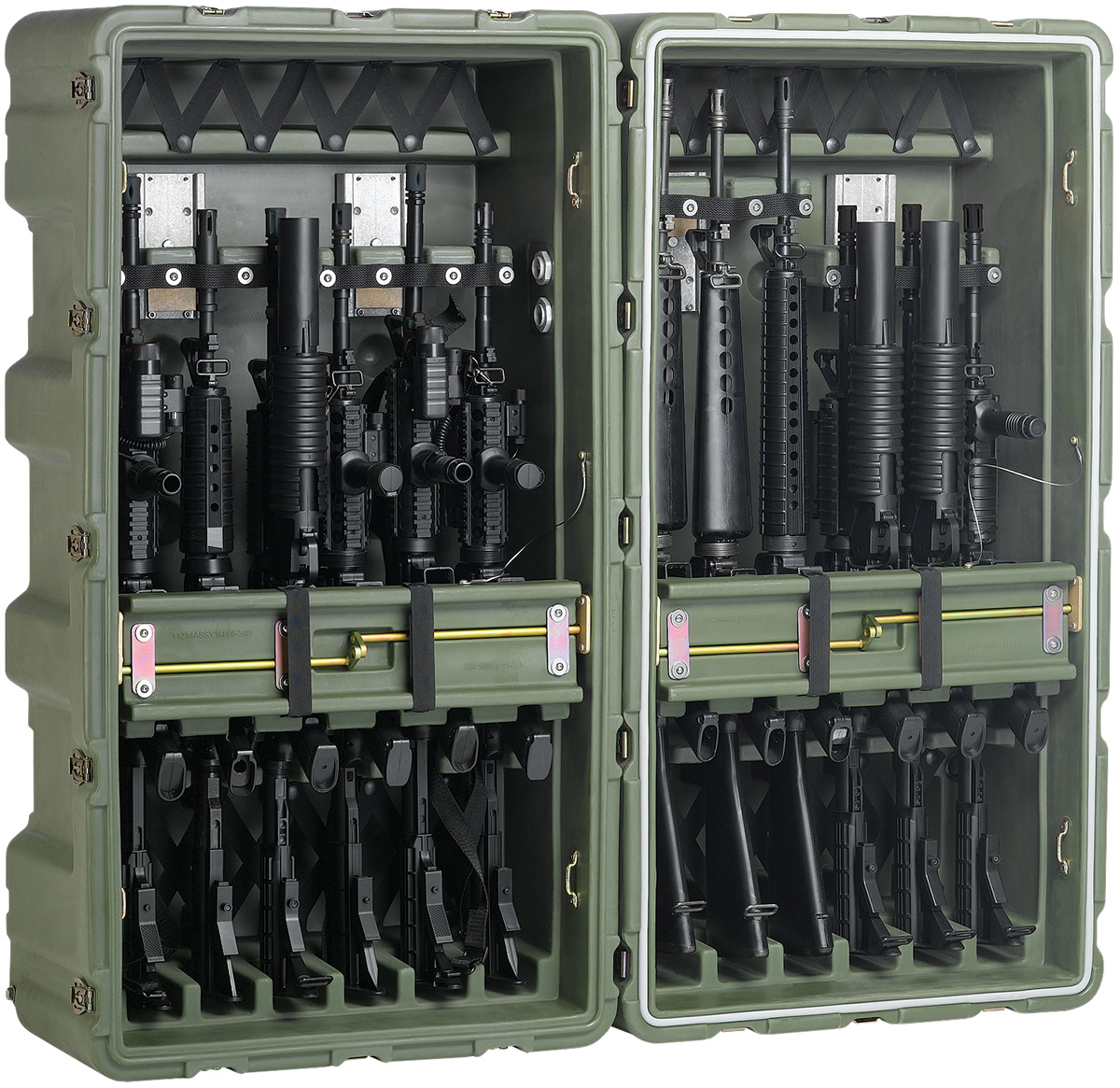 pelican usa military m4 m16 large case