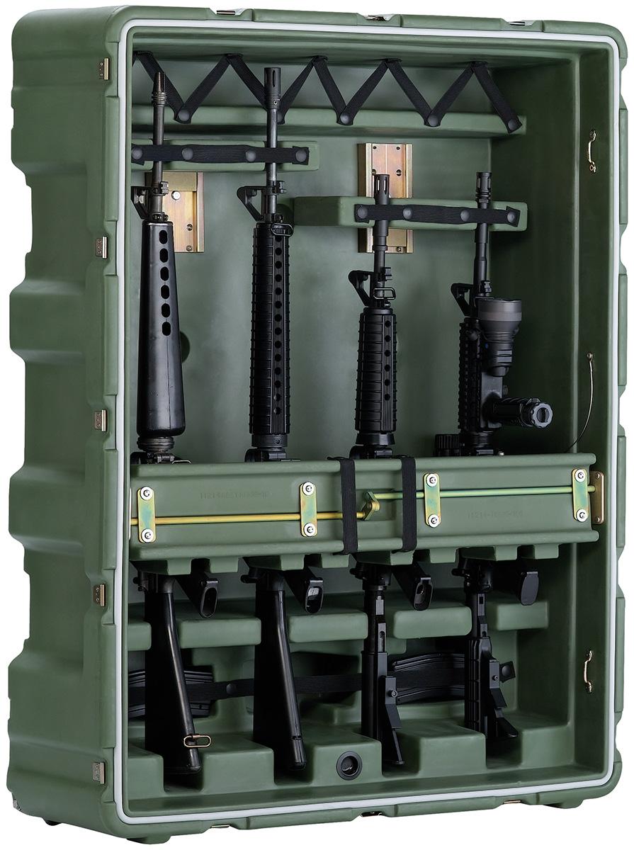 pelican usa military m4 m16 transport case