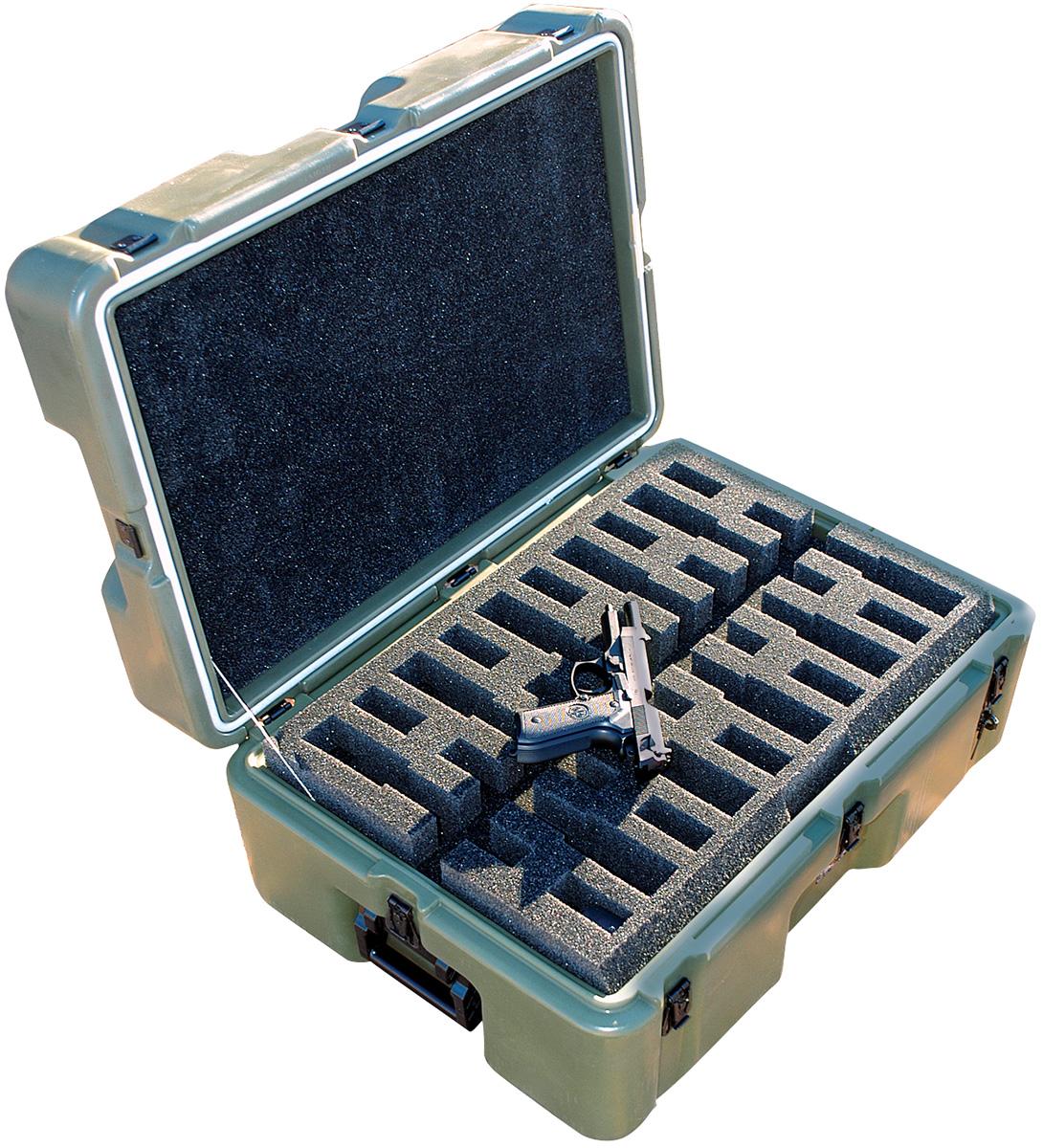 pelican military m9 pistol transport case