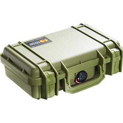 pelican 1170 green weapon case
