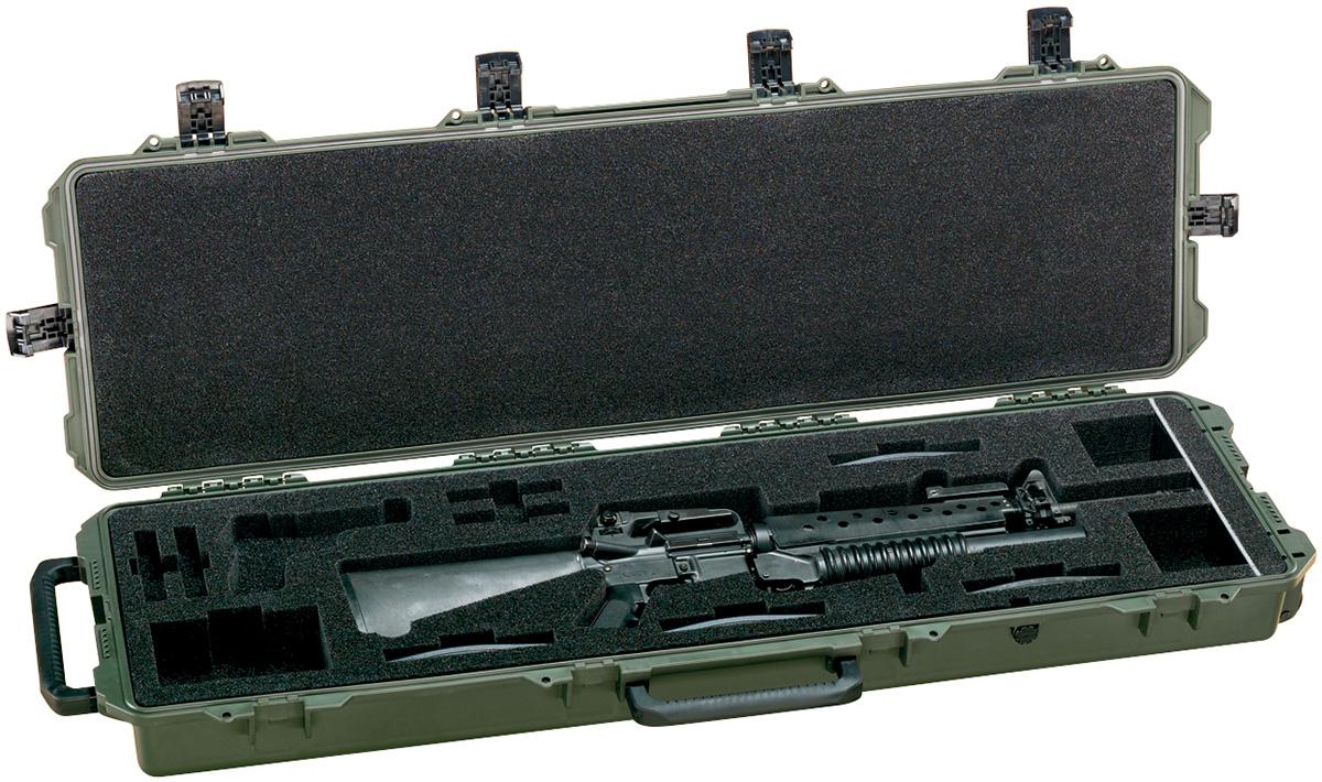 pelican usa military m16 ar15 rifle hardcase