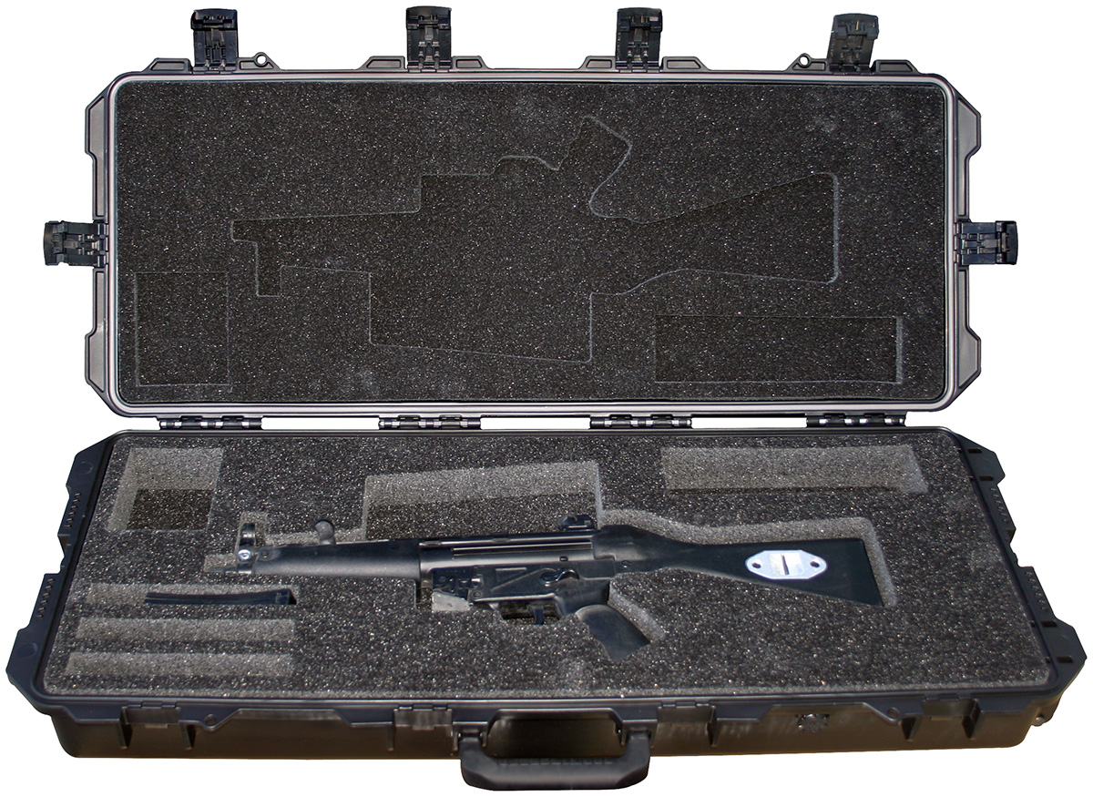 pelican military mp5 machine gun case