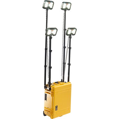 pelican 9470 remote led area light yellow