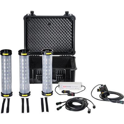 pelican led work shelter tent light kit