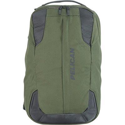 pelican green protective waterproof backpack