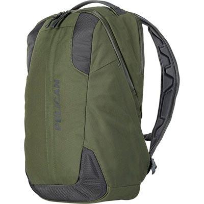 pelican green travel backpack laptop bag
