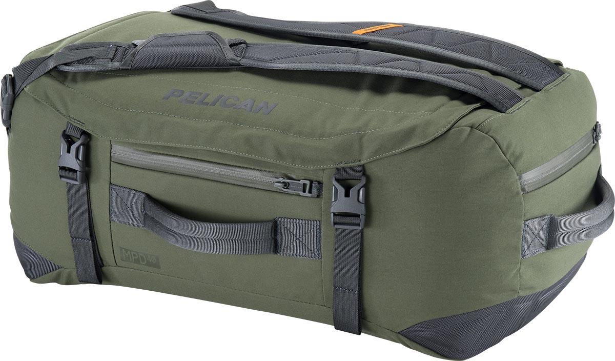 pelican travel bag green duffel backpack