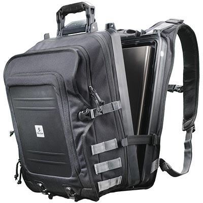pelican waterproof hard laptop backpack