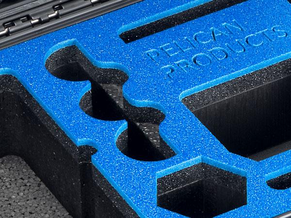 Pelican custom cases foam case services