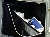 Pelican custom case lid storage pouch