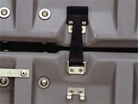 Pelican case latches coupling