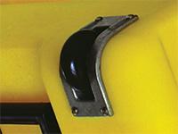 Pelican case edge caster wheels