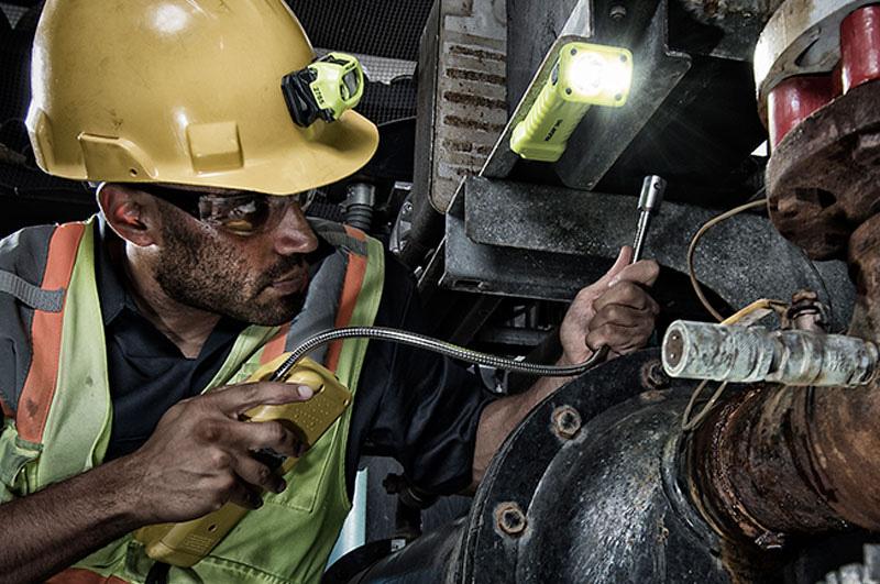 Pelican industrial safety flashlights petroleum