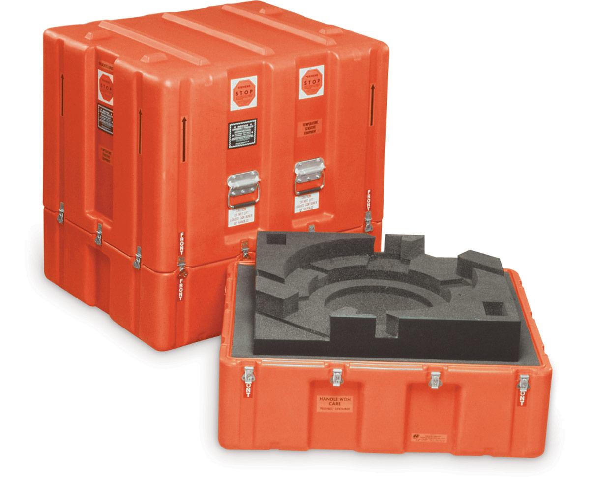 Pelican centrifuge custom medical case