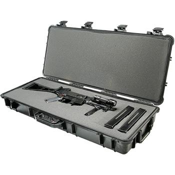 use made police rifle hard shell case