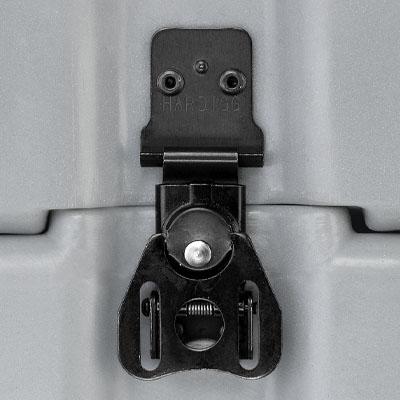 pelican rack mount black zinc hardware