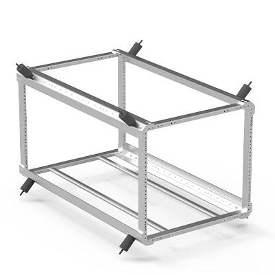pelican rack mount bottom support