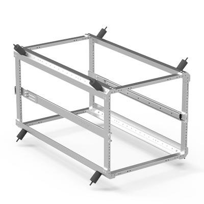 pelican rack moutn horizontal support