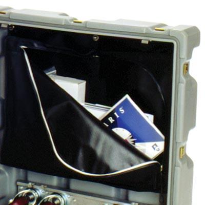 pelican rack mount lid storage pouch