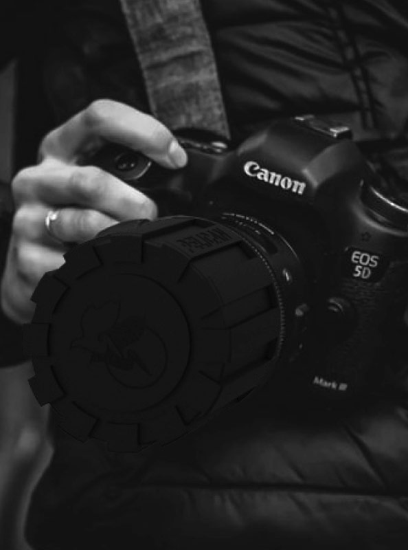 pelcian rugged camera lens cover