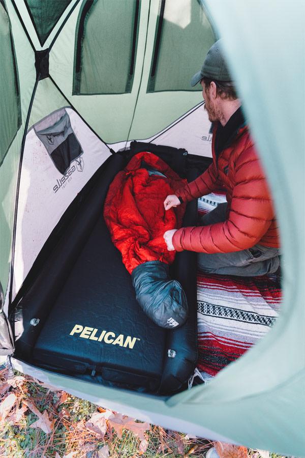 pelican self inflating sleeping pad