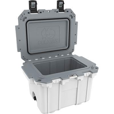 pelican 30 qt marine fishing cooler t
